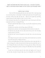 SKKN: ĐỔI MỚI PHƯƠNG PHÁP GIẢNG DẠY – GIẢI BÀI TẬP HÓAHỌC 10 GÓP PHẦN PHÁT TRIỂN TƯ DUY SÁNG TẠO CHO HỌC SINH