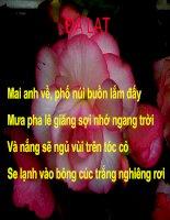 Mot Chut Suy Tu