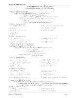PP&bài tập chọn lọc PT,BPT,HPT Mũ,Lôgarít
