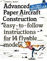Nghệ thuật xếp máy bay giấy
