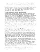 KẾ HOẠCH ĐỔI MỚI PHƯƠNG PHÁP DẠY HỌC MÔN TOÁN Ở THCS