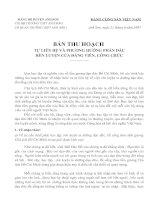 Bài thu hoạch về tấm gương đạo đức HCM