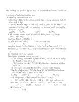 pp giải nhanh hóa học