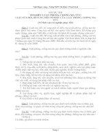 Bài dự thi tìm hiểu luật phòng chống ma tuý(Stầm)