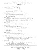 Đề thi HSG lớp 12 có đáp án đề 32