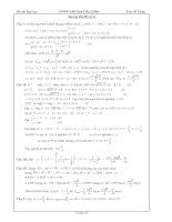 Hướng dẫn giải đề thi thử đại học môn toán đề số 21