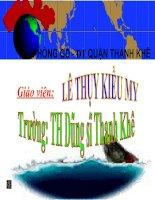 Địa lí ( 30 ): Các đại dương trên thế giới