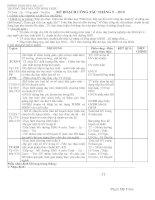 Kế hoạch tháng 9 Tổ toán Lý