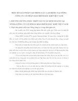 MỘT SỐ GIẢI PHÁP TẠO ĐỘNG LỰC LAO ĐỘNG TẠI TỔNG CÔNG TY CỔ PHẦN BẢO HIỂM DẦU KHÍ VIỆT NAM