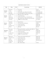 GIÁO ÁN LỚP 5 TUẦN 3 (09-10)