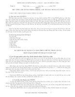 Giáo án Thể Dục 6 mới 09-10