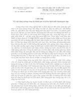Nội dung tài liệu tập huấn Tự đánh giá kiểm định ở Phòng GD Nghi Lộc