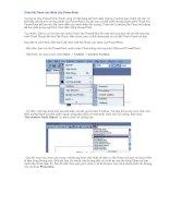 Nhung Flash vao PowerPoint 2003