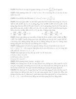 Một số đề toán khó 6