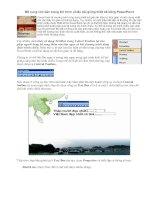 Bổ sung văn bản trong khi trình chiếu bài giảng thiết kế bằng PowerPoint