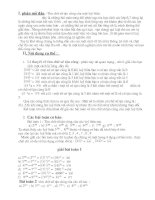 Bô đề thi HSG lớp 7