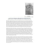CHỦ TỊCH HỒ CHÍ MINH ĐẤU TRANH BẢO VỆ VÀ VẬN DỤNG SÁNG TẠO  ĐƯỜNG LỐI CỦA V.I LÊNIN VỀ VẤN ĐỀ DÂN TỘC VÀ THUỘC ĐỊA (1920-1924)