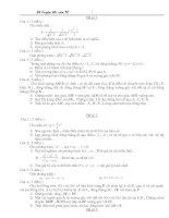 500 đề toán ôn thi lớp 10