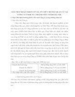 GIẢI PHÁP HOÀN THIỆN CƠ CẤU TỔ CHỨC BỘ MÁY QUẢN LÝ TẠI CÔNG TY TNHH NN 1 THÀNH VIÊN CƠ KHÍ HÀ NỘI