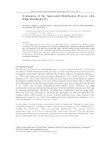 Evaluation of the Innovated Disinfection Process with High Dissolved CO2