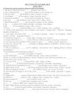Test one period ( class 8)