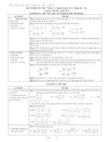 đề cương ôn tập HK2 toán 11(đầy đủ)