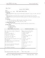 Giáo án tự chọn toán  6 chủ đề bám sát bản đẹp nhất đầy đủ nhất năm học 2008-2009