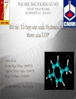 Tổ hợp sản xuất Hydrocacbon thơm của UOP