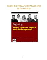 Giáo trình lập trình php và MySQL cơ bản đến nâng cao