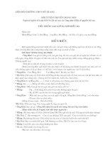 Tiểu phẩm tuyên truyền về Luật BVCSGD trẻ em