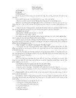 Ôn tập Ngữ văn lớp 8( Phần TLV)