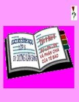 BÀI 8 - SỰ LỚN LÊN VÀ PHÂN CHIA CỦA TẾ BÀO