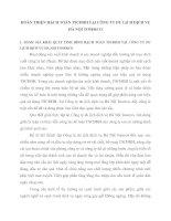 HOÀN THIỆN HẠCH TOÁN TSCĐHH TẠI CÔNG TY DU LỊCH DỊCH VỤ HÀ NỘI TOSERCO