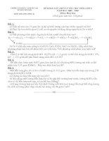 ĐỀ THI HSG HÓA 8 (08 - 09 ,có đáp án)