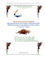 SKKN VAT LY THCS HAY