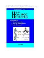 Re:// BT Hóa Học hữu cơ 1 - có đáp án: Ôn thi HSG Quốc Gia