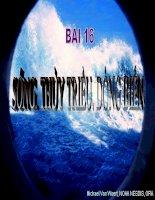 Bài 16: Sóng Thủy Triều Dòng Biển