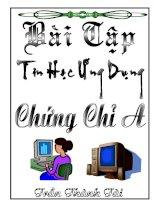 bai Tap Chung Chi A Tin Hoc