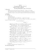 GIAÓ ÁN ÂM NHẠC LỚP 9: TIẾT 6 - Nhạc lí: Sơ lược về hợp âm - Âm nhạc thường thức: Nhạc sĩ Trai-cốp-xki