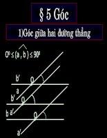 Chương III - Bài 2: Đường thẳng vuông góc với mặt phẳng