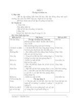 GIAÓ ÁN ÂM NHẠC LỚP 9: TIẾT 7 - Ôn tập và kiểm tra
