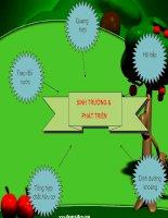 Chuyên đề sinh trưởng và phát triển ở thực vật