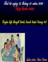 TLV- Luyen tap thuyet trinh tranh luan.ppt