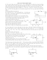 Bài tập BDHSG Điện học(hay)