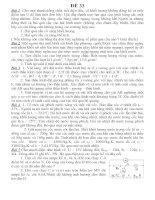 BDHSG Lí 9 Đề 33