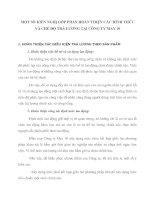 MỘT SỐ KIẾN NGHỊ GÓP PHẦN HOÀN THIỆN CÁC HÌNH THỨC VÀ CHẾ ĐỘ TRẢ LƯƠNG TẠI CÔNG TY MAY 10