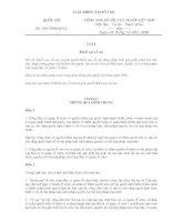 Luật khiếu nại tố cáo