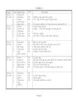 Giáo án tổng hợp lớp 5 tuần 4