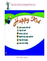 Phần mềm Happy kid