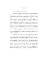 Đề tài bảo hộ quyền tác giả ở việt nam với việc việt nam gia nhập công ước berne